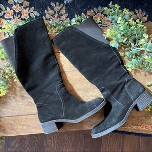 Lucky Brand Hanover Suede Leather Tall Boots 7.5